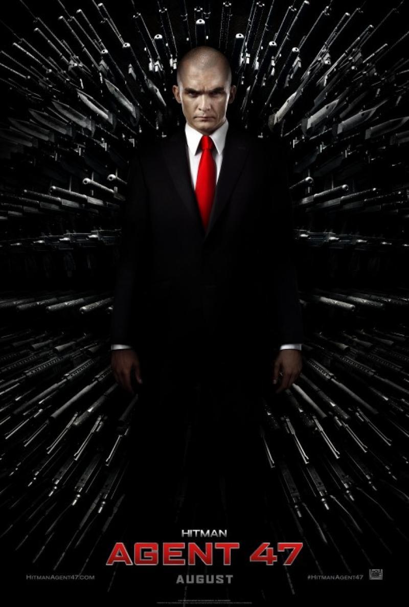 Poster Oficial de Hitman: Agente 47 © 20th Century Fox 2015