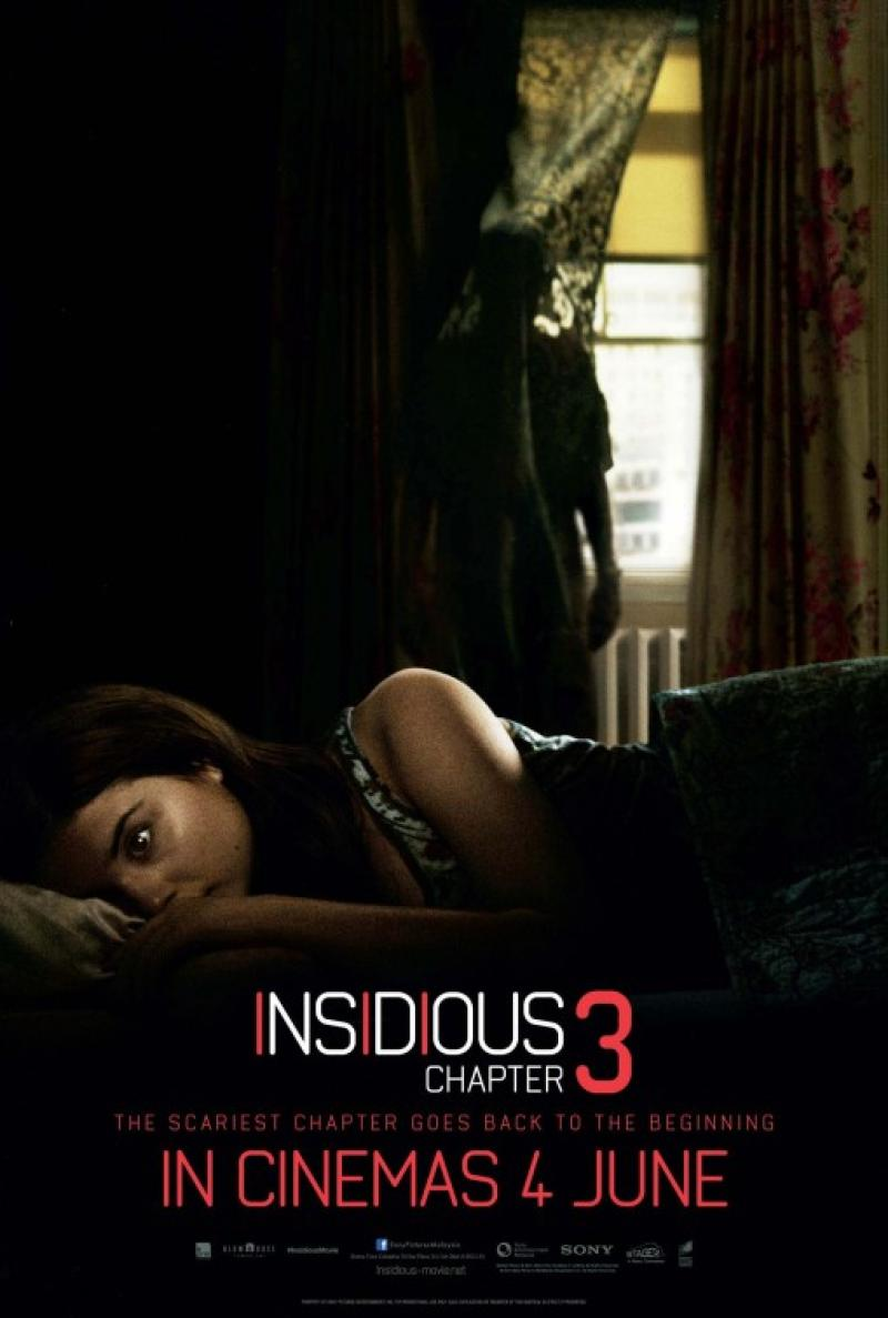 Poster oficial de La Noche del Demonio: Capítulo 3 © Focus Features, Stage 6 Films 2015