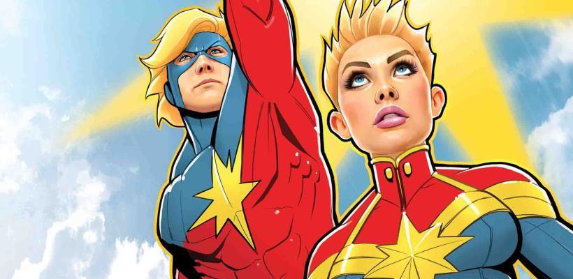 Capitana Marvel: su historia será expandida con un cómic paralelo a Infinity War