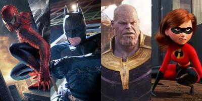 Las películas de superhéroes más taquilleras de la historia