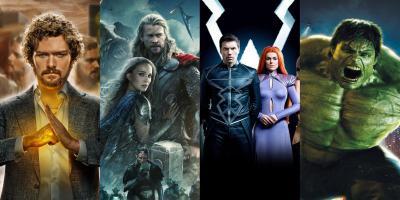 Las peores películas y series del Universo Cinematográfico de Marvel según la crítica