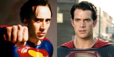 Nicolas Cage elogia al Superman de Henry Cavill