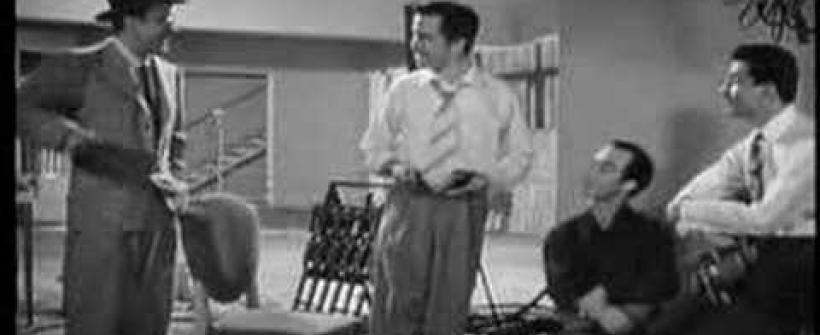 También de Dolor se Canta - Escena Tin Tan y Pedro Infante