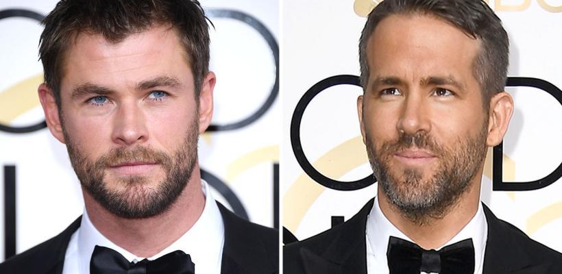 Chris Hemsworth y Ryan Reynolds publican nuevos adelantos de Men In Black y Six Underground