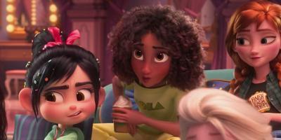 WiFi Ralph: Disney volvió a animar varias secuencias para modificar la apariencia de Tiana