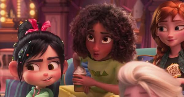 Resultado de imagen para WiFI Ralph princesa negra de Disney