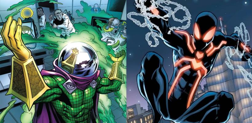 Spider-Man: Far From Home | Nuevas imágenes detalladas de Mysterio y el stealth suit de Spider-Man