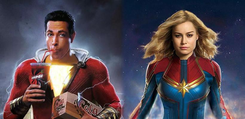 Director de Shazam! les recuerda a los fans de Brie Larson quién es el verdadero Capitán Marvel