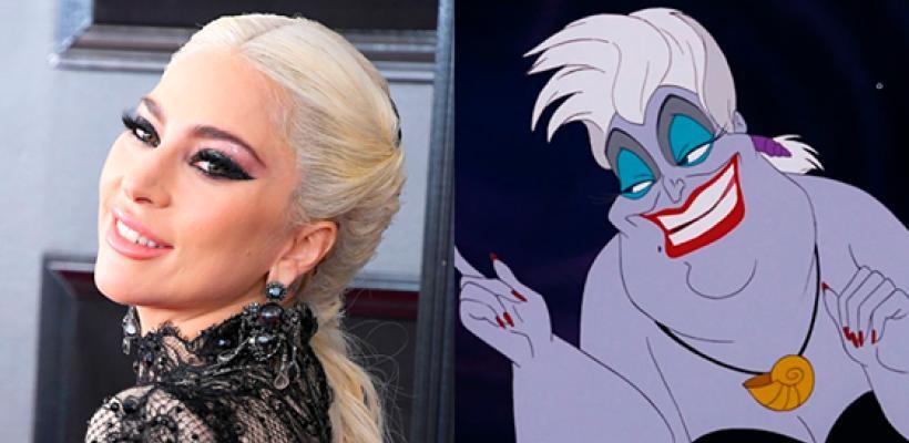 Lady Gaga podría ser Úrsula en la versión live action de La Sirenita