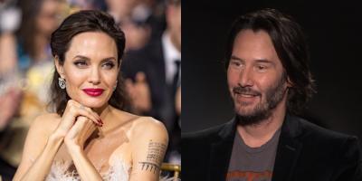 Angelina Jolie y Keanu Reeves podrían estar saliendo en secreto
