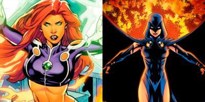 Titans: nuevas imágenes revelan los atuendos clásicos de Starfire y Raven