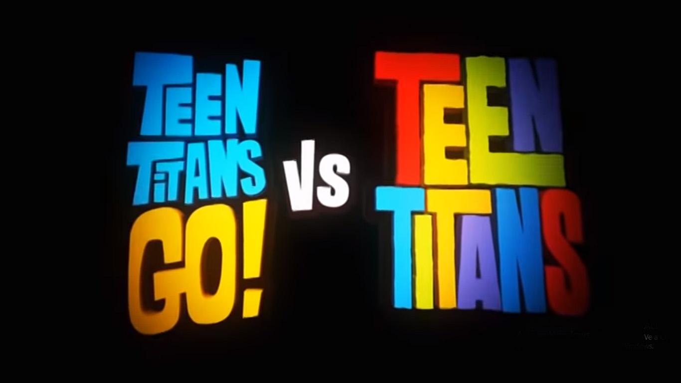Image result for teen titans go vs teen titans trailer