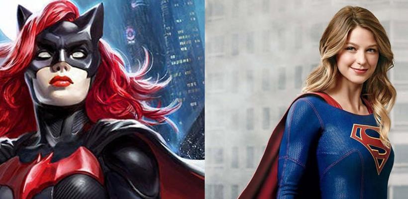 Primer vistazo a Batwoman de Ruby Rose con Supergirl, en el set de Elseworlds