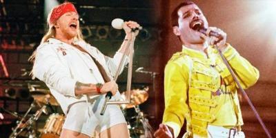 Los de Guns N' Roses se escaparon para ver Bohemian Rhapsody en México