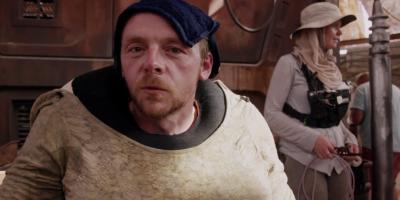 Simon Pegg critica Star Wars: Los Últimos Jedi y dice que extraña a George Lucas