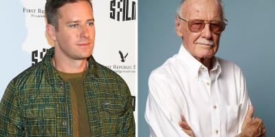Armie Hammer es destruido en redes sociales por criticar a los famosos que publican fotos con Stan Lee