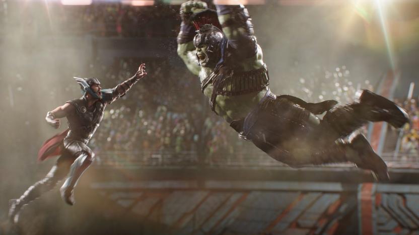 Thor: Ragnarok - Hulk vs Thor