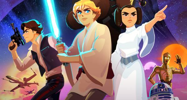 Star Wars Galaxy of Adventures | Tráiler oficial