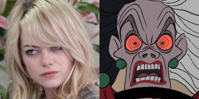 Cruella de Vil será interpretada por Emma Stone y los fans tienen reacciones encontradas