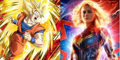 Capitana Marvel: todas las similitudes con Dragon Ball