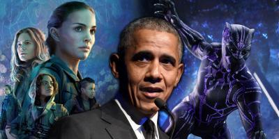 Pantera Negra y Aniquilación, entre las películas favoritas de Barack Obama en 2018