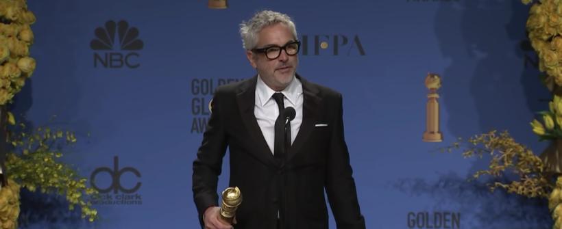 Globos de Oro 2019 |  Alfonso Cuarón en conferencia de prensa por su triunfo con Roma