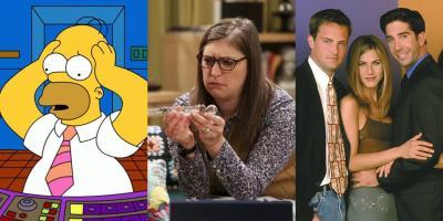 Acusan a Los Simpson, The Big Bang Theory y Friends de ser series machistas