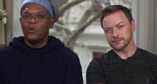 Incómoda entrevista a James McAvoy y Samuel L. Jackson