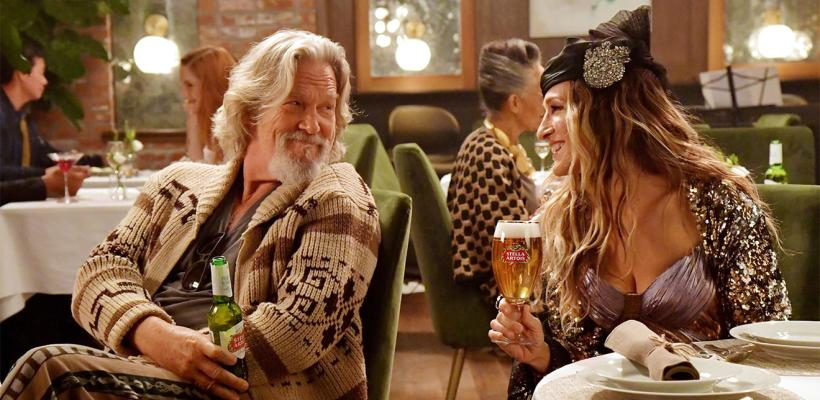 The Dude y Carrie Bradshaw unen fuerzas en comercial para el Super Bowl