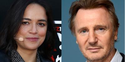 Michelle Rodriguez defiende a Liam Neeson y da una razón irrefutable de por qué no es racista