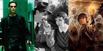 Películas que ganaron el Óscar en todas sus nominaciones