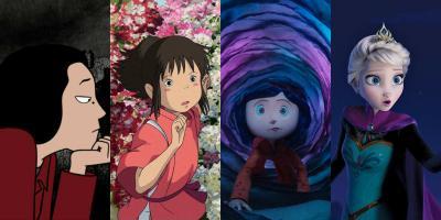 Películas con los mejores personajes femeninos del cine animado