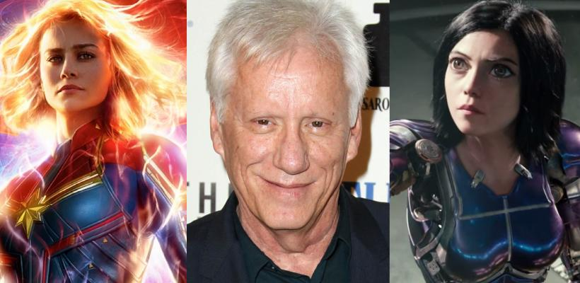 James Woods quiere que el público vea Battle Angel: La Última Guerrera y no Capitana Marvel