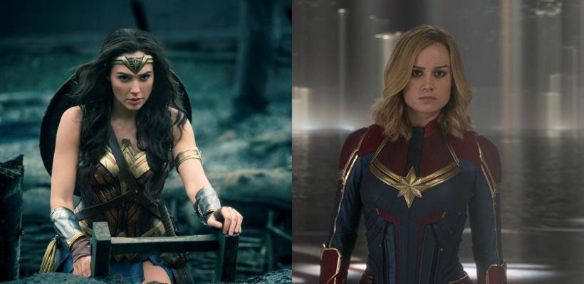 Razones por las que Mujer Maravilla es superior a Capitana Marvel