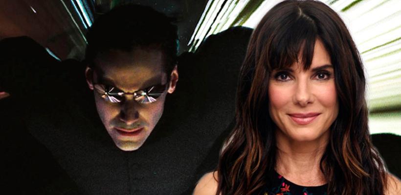 Sandra Bullock estuvo a punto de protagonizar Matrix como una versión femenina de Neo