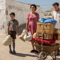 Penélope Cruz y Raúl Arévalo en Dolor y gloria (2019)