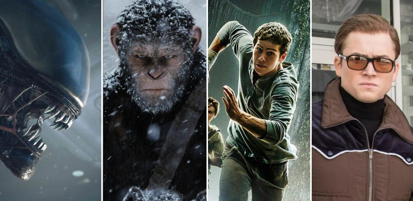 Disney y Fox prometen nuevas películas de Alien, El Planeta de los Simios, Kingsman y Maze Runner
