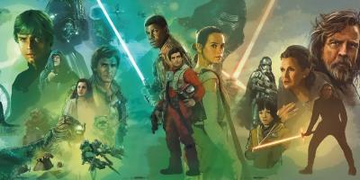 Star Wars Celebration: increíble mural de la historia de la franquicia es revelado