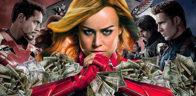 Avengers: Endgame revitaliza el interés por Capitana Marvel y repunta en taquilla