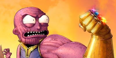 Avengers: Endgame | Rick y Morty se burlan del estúpido plan de Thanos en un nuevo cómic