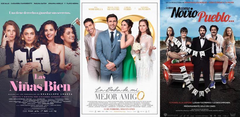 El cine mexicano en cartelera durante febrero y marzo 2019