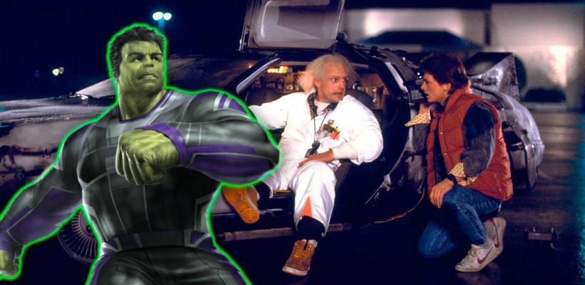 Guionista de Volver Al Futuro amó las referencias a la película en Avengers: Endgame