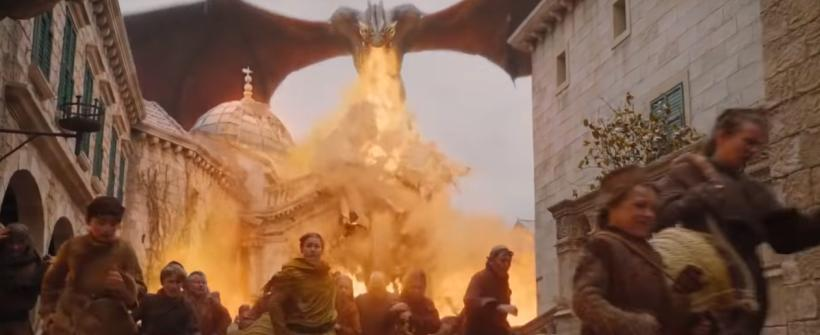 Daenerys destruye Kings Landing