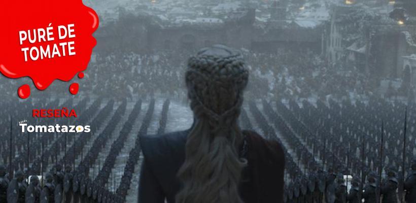 RESEÑA: Game Of Thrones | Episodio 6, temporada 8 (T8/E6) | Su reino no era de ese mundo