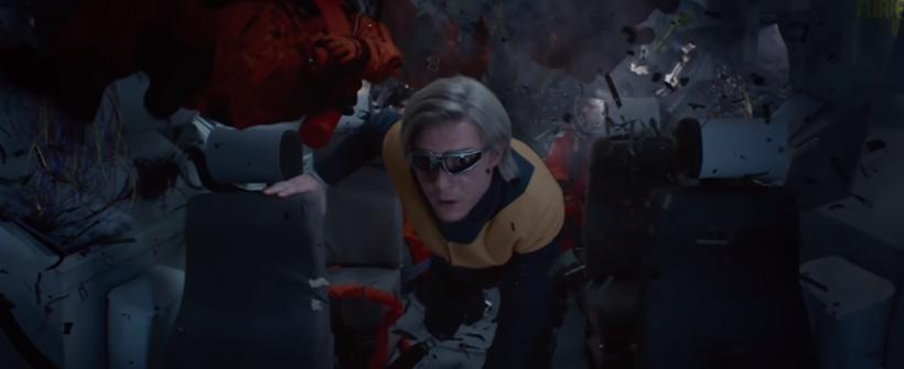 Quicksilver salva a astronautas - X-Men: Dark Phoenix (Clip)