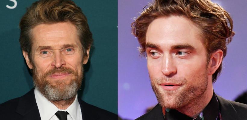 Willem Dafoe opina que la mandíbula de Robert Pattinson es la ideal para Batman