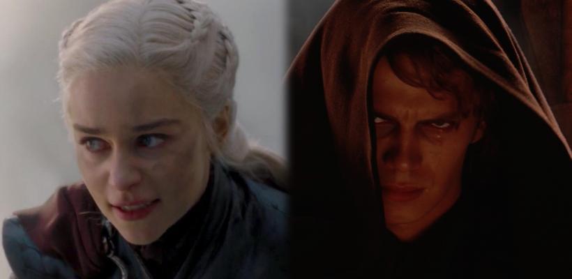 Star Wars vs Game of Thrones: fans de Star Wars critican la caída de Daenerys al lado oscuro