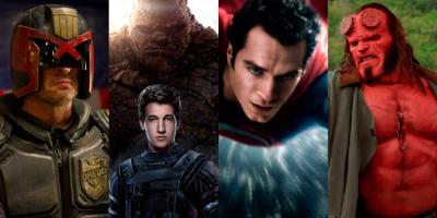 Los mejores y peores reboots de películas basadas en cómics