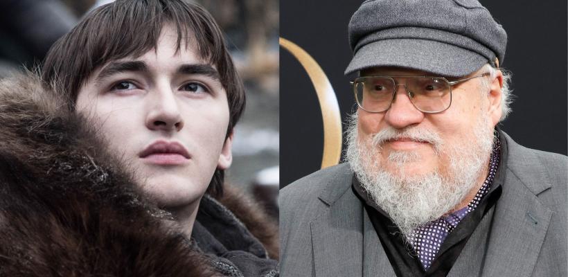 Game of Thrones 8: final de Bran fue idea de George R.R. Martin