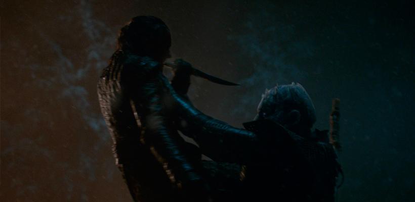 Guionistas de Game of Thrones dan una explicación incoherente sobre cómo llegó Arya al Rey de la Noche